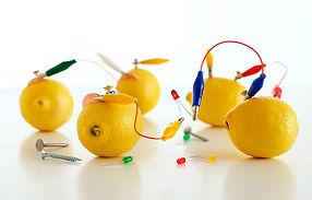 электротехника для детей, как из лимона сделать электричество, J-Get