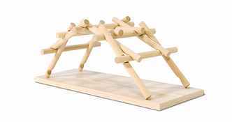 Мост Да-Винчи, конструирование для детей, робототехника в Набережных Челнах