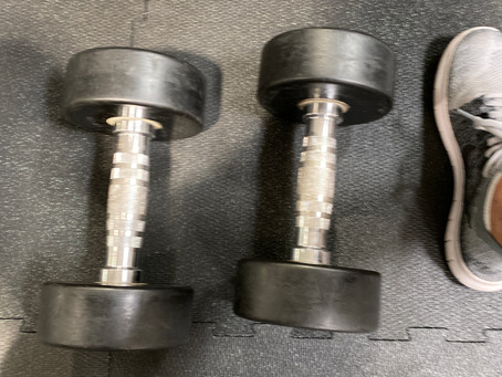 Women and Dumbbells