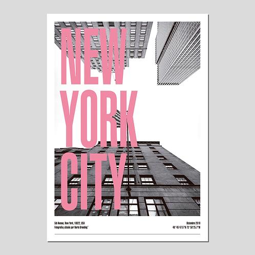 "PRINT ""NEW YORK CITY"" 5TH AVENUE"