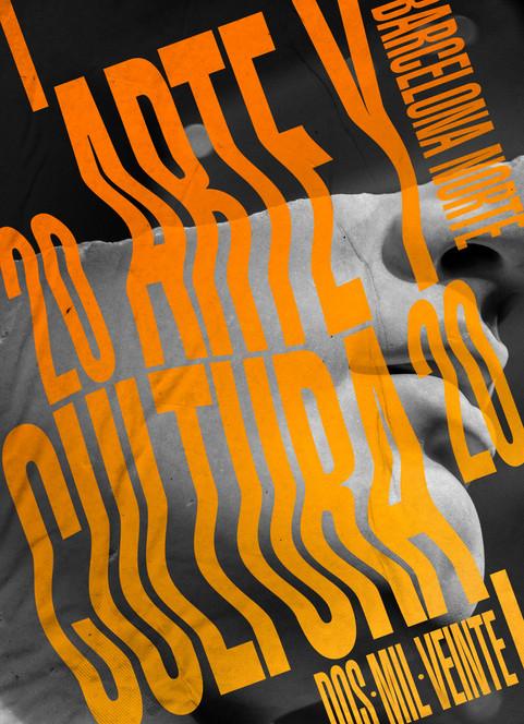Poster Arte y Cultura Barcelona Norte 2020
