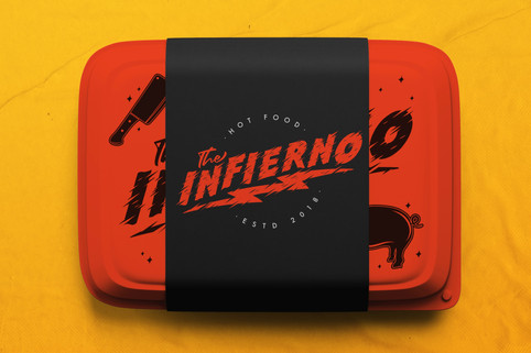 FoodBox The Infierno Hot Food