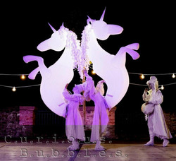 Curious Bubbles - Diamond Unicorns