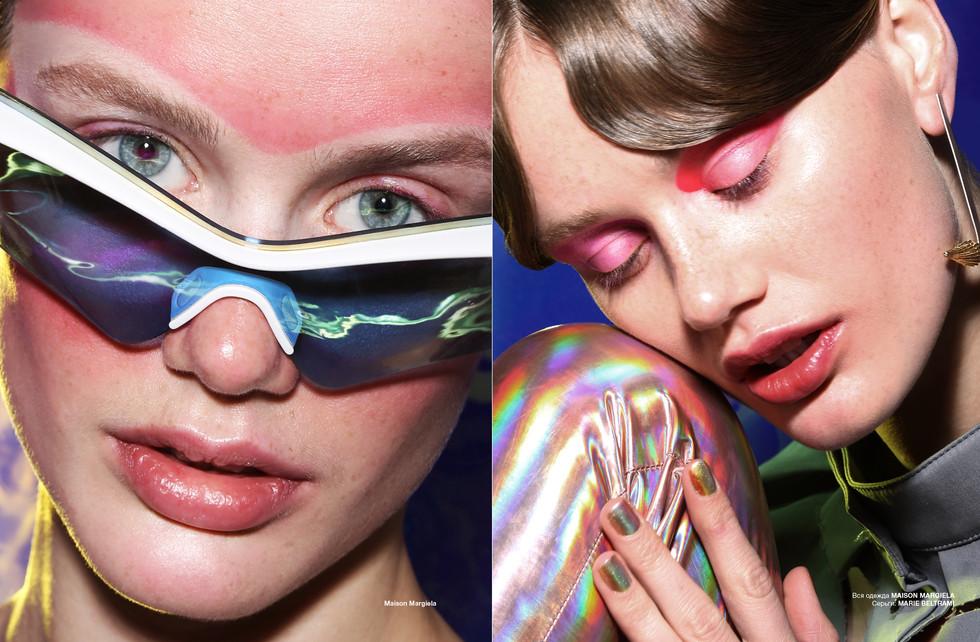 Photo: Alexandra Leroy Magazine: Numérorussia 54 Work: Electric Charge Model: Nancy Schneider