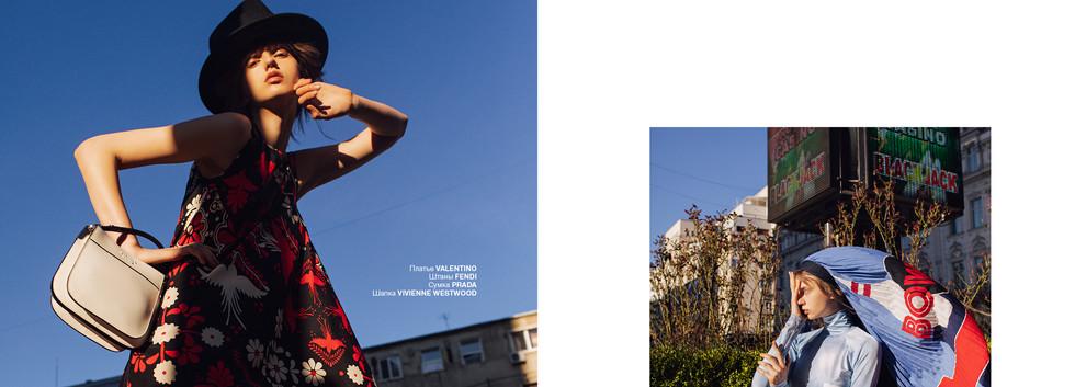 Photo: Oltin Dogaru Magazine: Numérorussia 54 Work: Read Between the Likes Model: Victoria Avram