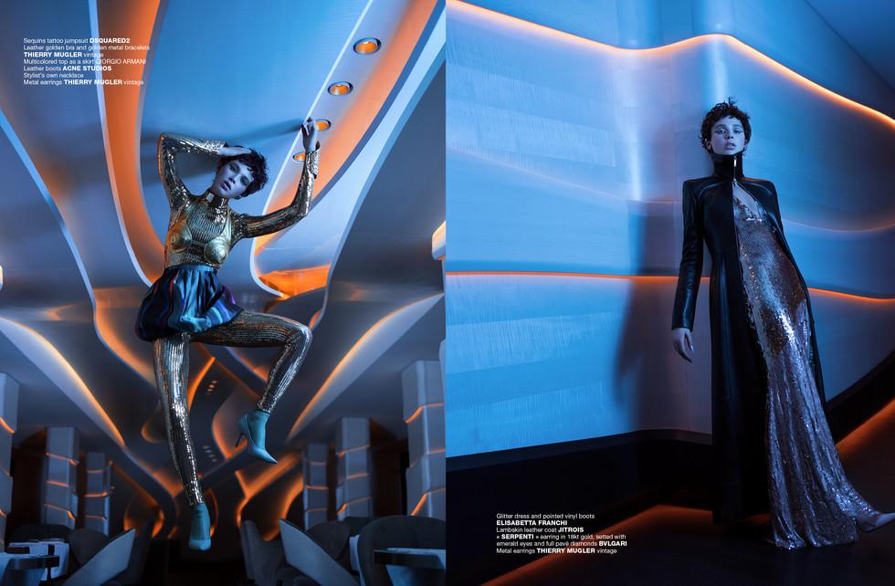 Photo: Benjamin Kanarek & Frédérique Renaut Magazine: Númerorussia 53Work: Encounters Model: Alexis Kapaun