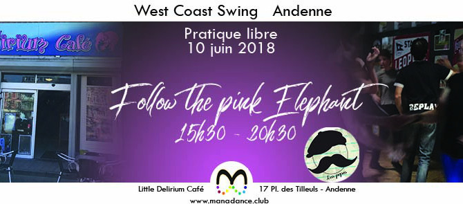 10/06 Viens danser le West Coast Swing au Little Delirium Andenne