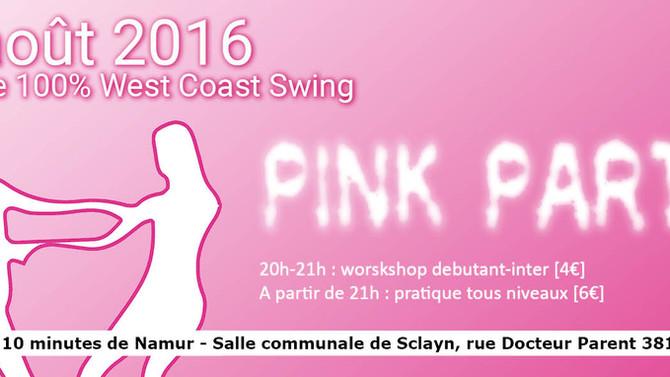 5 août 2016 : dress code PINK color !