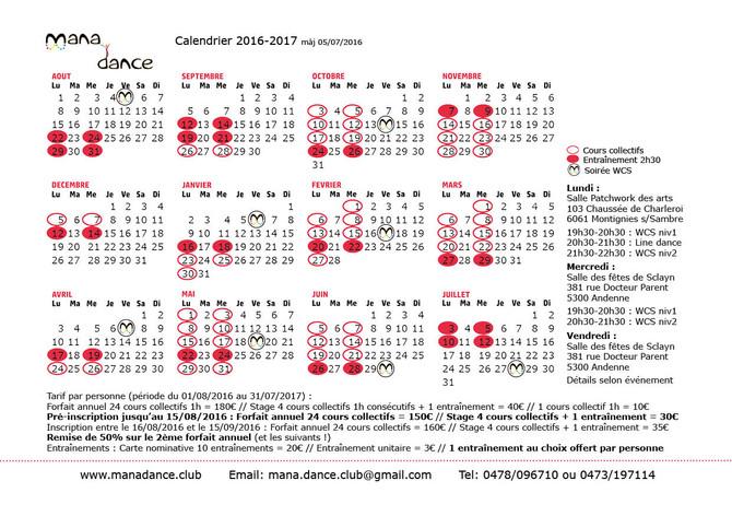 Saison 2016-2017 : inscriptions ouvertes !