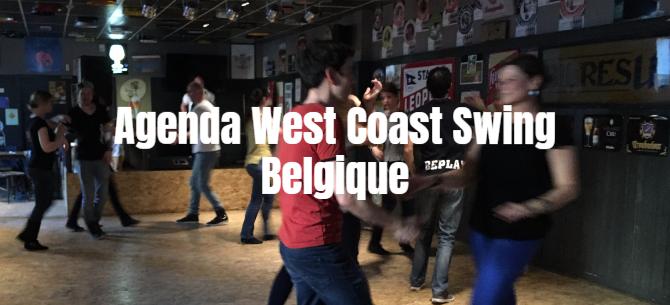 AGENDA WCS › Toutes les pratiques en Belgique en un coup d'oeil
