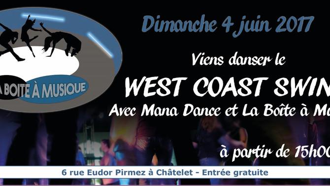 🎶 Viens danser le West Coast Swing à la Boîte à Musique