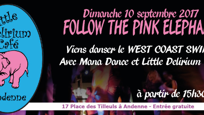 10/9 Viens danser le West Coast Swing au Little Delirium Andenne