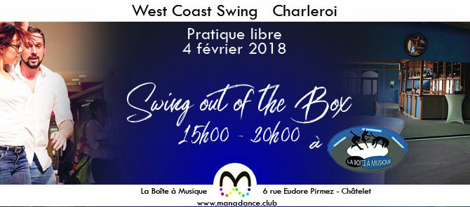 04/02 Viens danser le West Coast Swing à la Boîte à Musique (Châtelet)