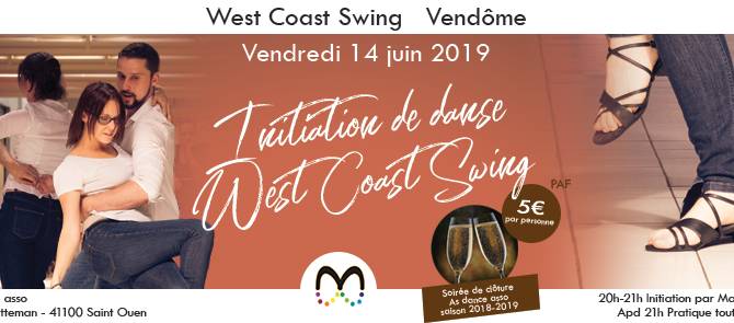 14JUIN › Initiation de danse West Coast Swing à Vendôme