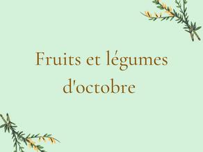 Fruits et légumes de novembre