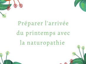 Préparer l'arrivée du printemps avec la naturopathie