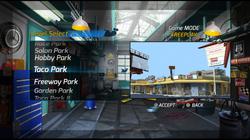 Turbo Stunt Racer - level select 03