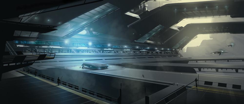 Spaceport concept
