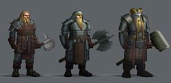 Dwarven fighter level up concepts