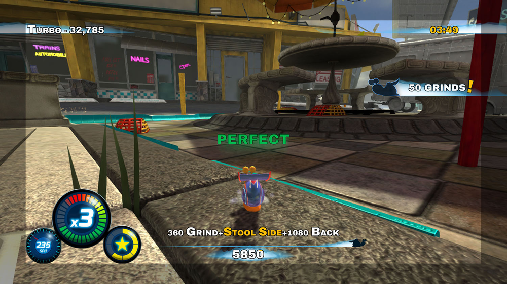 Turbo Stunt Racer - Main UI 02