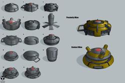 EDF anti-bug mines