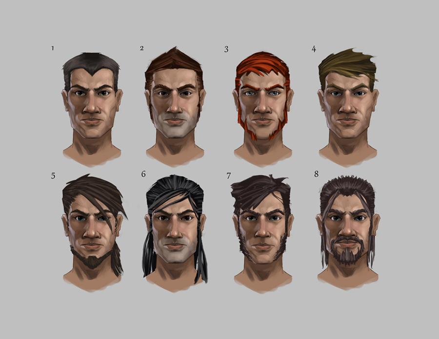 Mistborn main character head concept