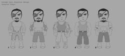 Invasion Tokyo! character sketchs