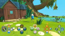 Adventure Time - HUD mockups