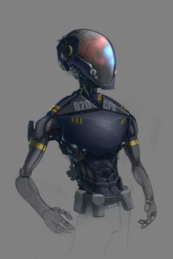 Future cop - base droid concept
