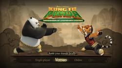 KungFu Panda - main menu concept
