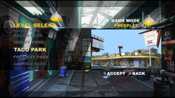 Turbo Stunt Racer - level select 01