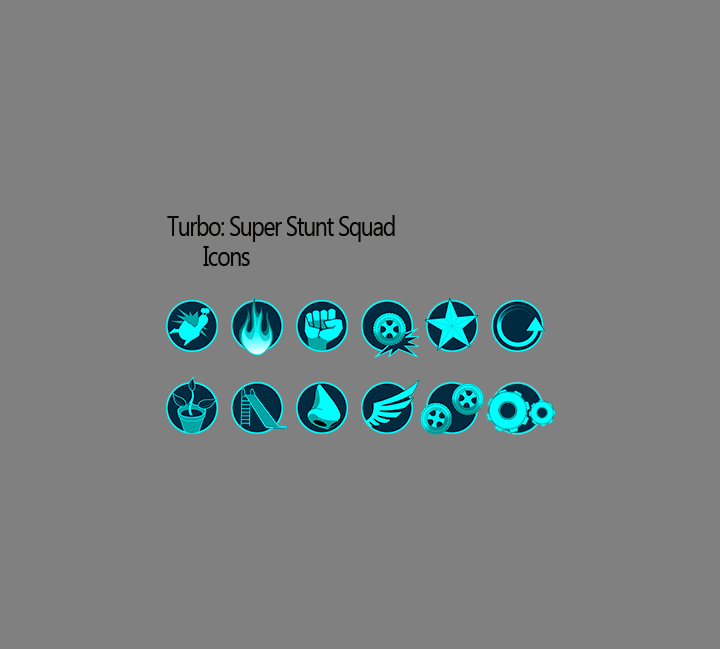 Turbo Stunt Racer - Trick Icons