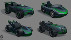 B10 Racer vehicle designs