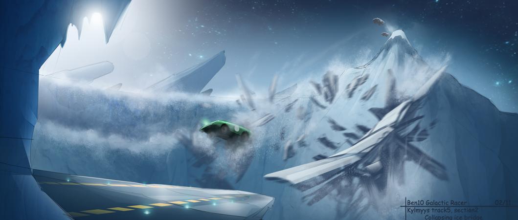 B10 Racing - Ice World concept
