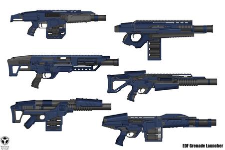Weapons, grenade launchers