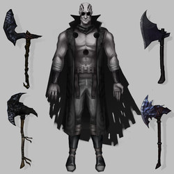 Mistborn - Inquisitor concept