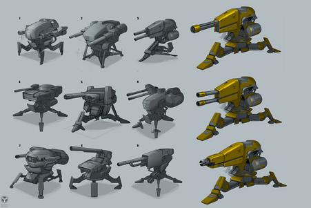 Deployable Turret concept