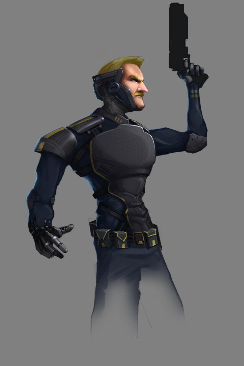 Future cop - character concept
