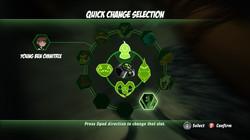 Ben10 Omni - Power selection