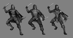 Rogue level up concepts