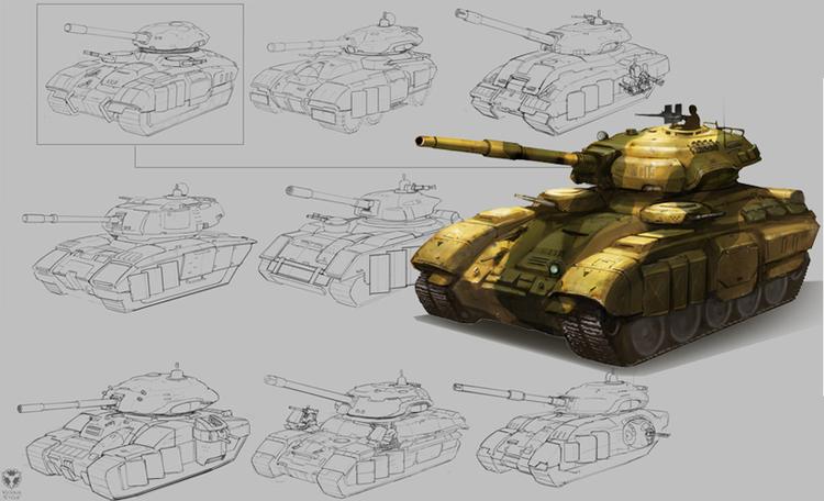 EDF tank concept