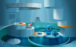 Despicable Me room puzzle concept