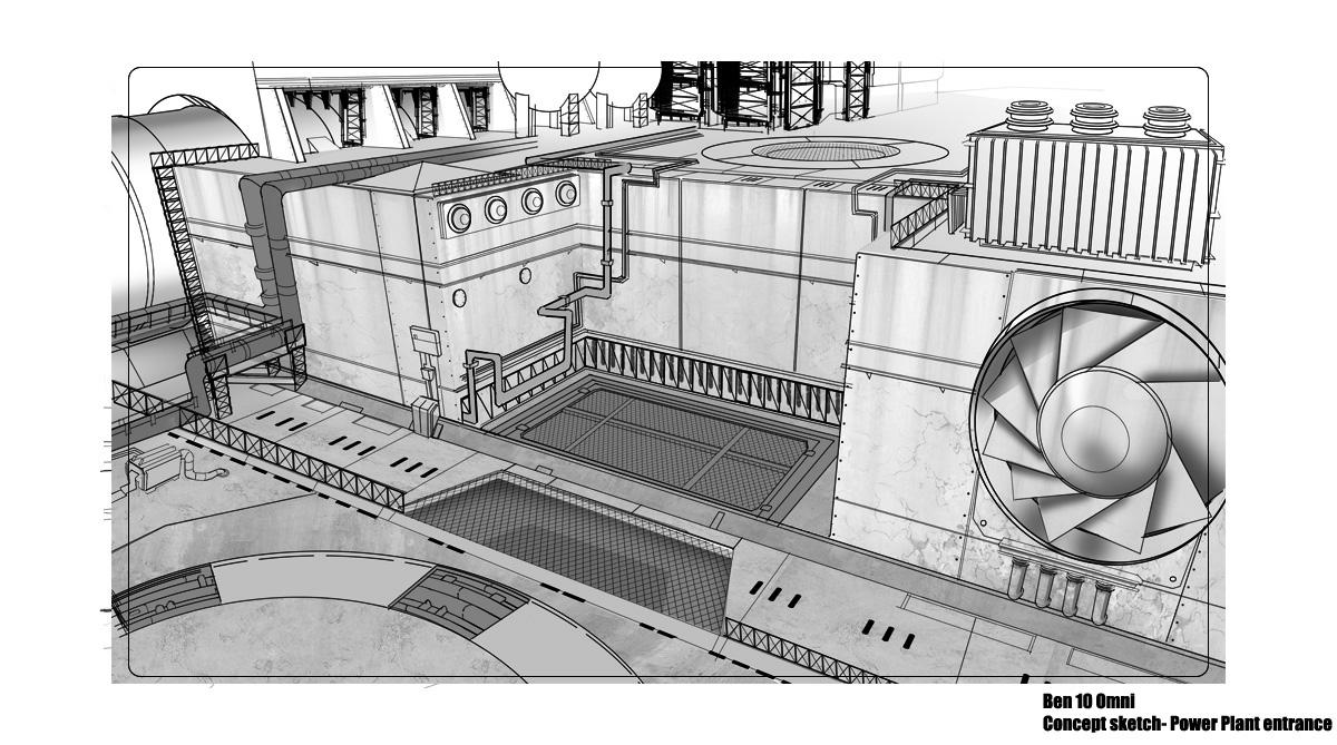 B10 environment sketch
