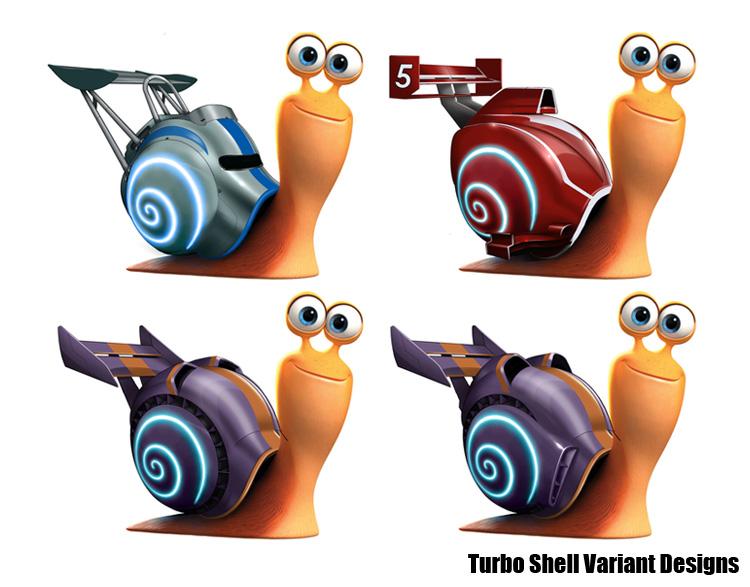 Turbo alt shell designs
