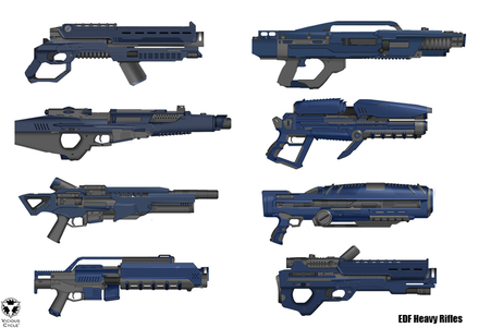 Weapons, rifles