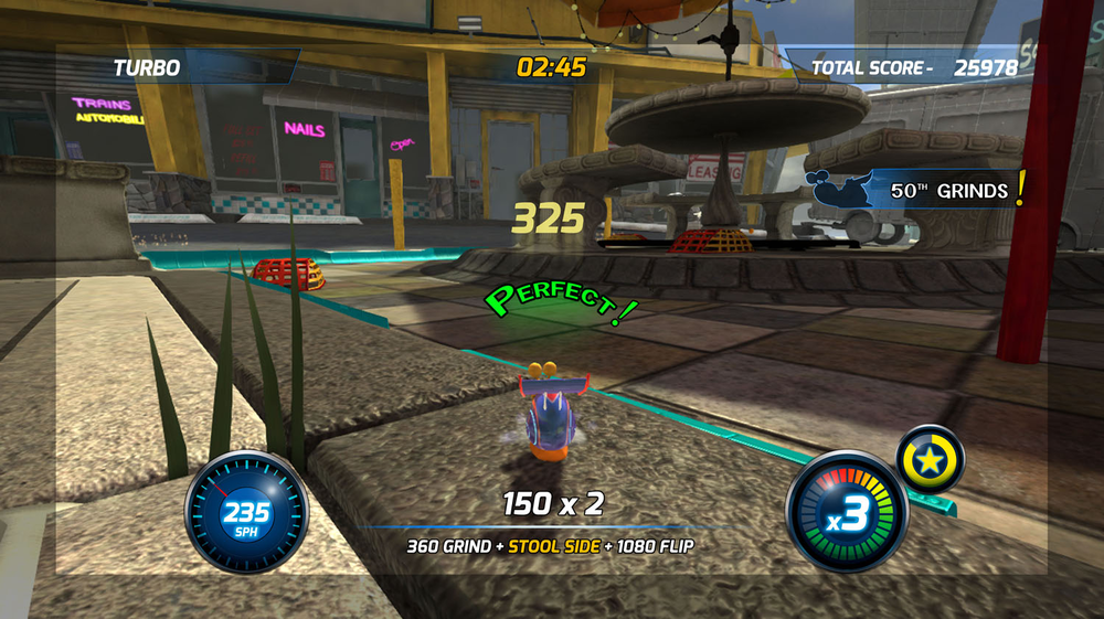 Turbo Stunt Racer - Main UI 01