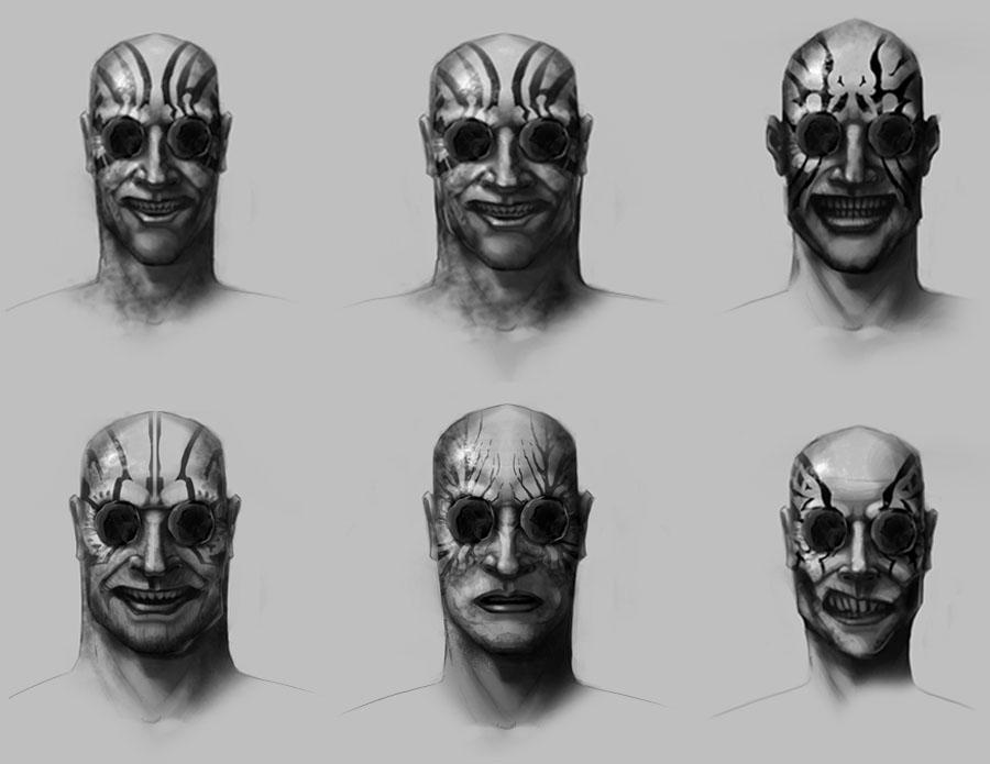 Mistborn - Inquisitor head concept