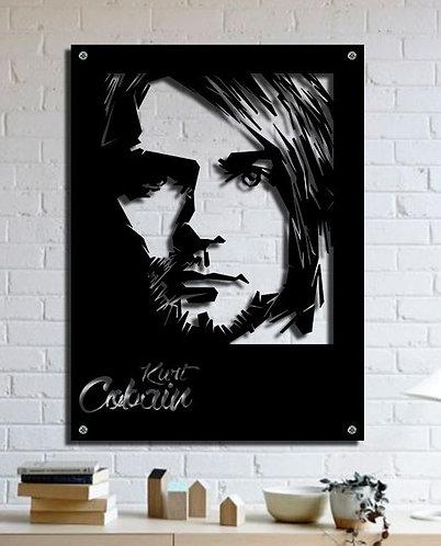 CURT KOBAIN WALL ART