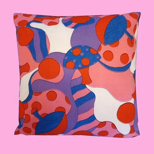70's Shrooms pillow cushion