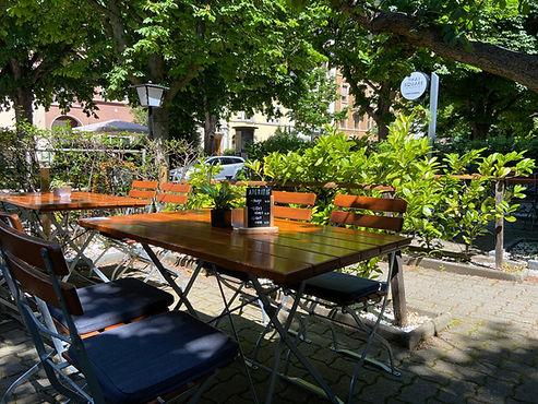 Gartenbereich bei Thaisquare Delsbergerallee